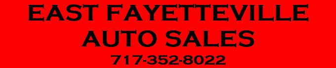 East Fayetteville Auto >> East Fayetteville Auto Sales Home